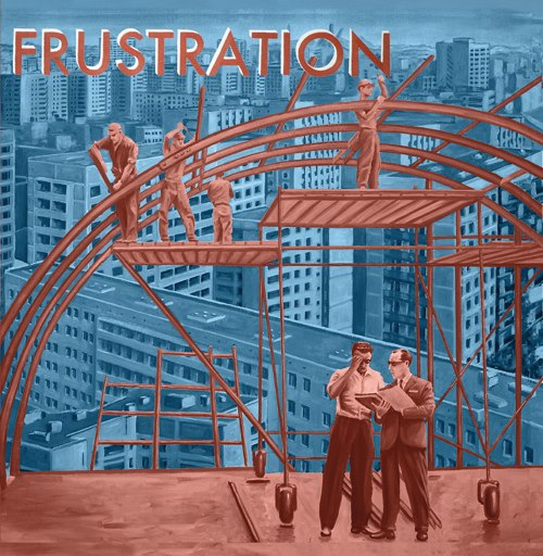 "FRUSTRATION ""Uncivilized"" VINYL"