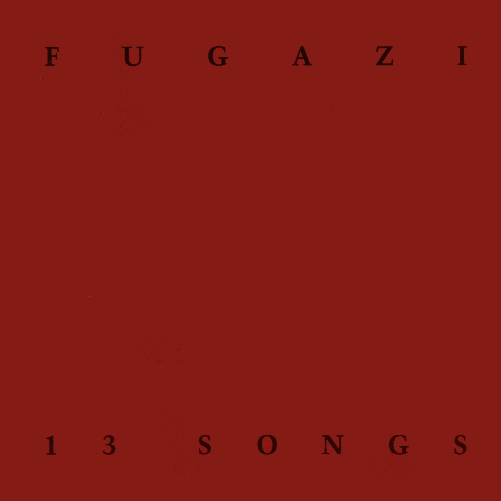 "FUGAZI ""13 songs"" CD"