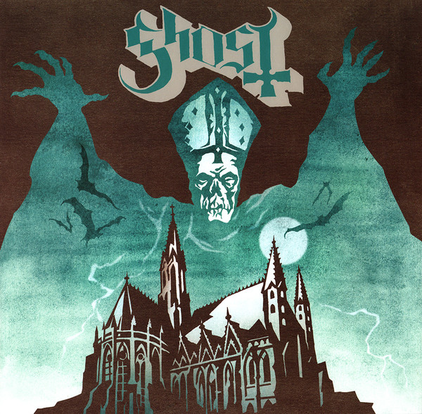 "GHOST ""Opus eponymous"" CD"