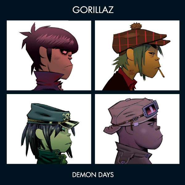 "GORILLAZ ""Demon days"" DOUBLE VINYL"