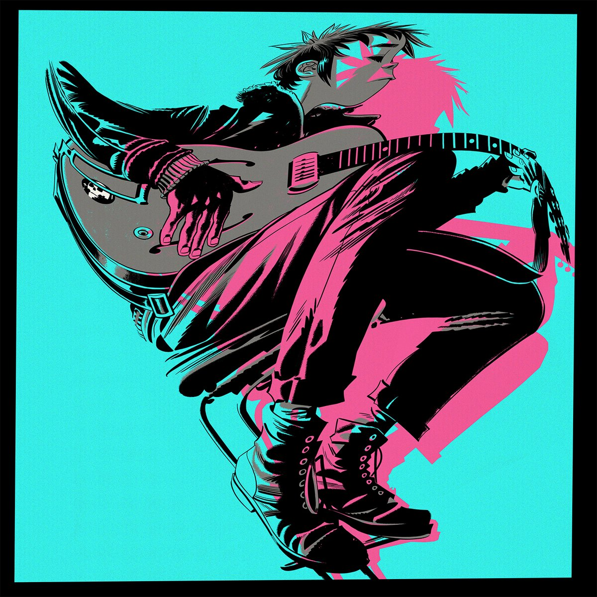 "GORILLAZ ""The now now"" LP"