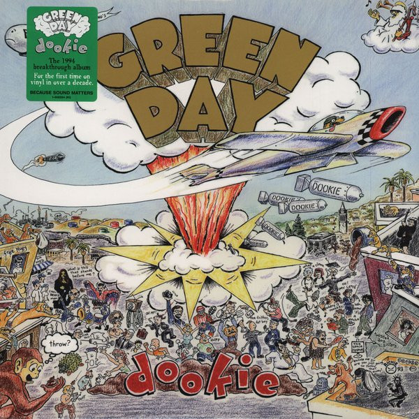 "GREEN DAY ""Dookie"" VINYL"
