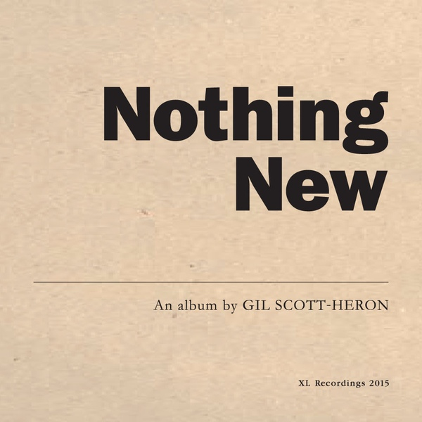 "GIL SCOTT-HERON ""Nothing new"" LP"