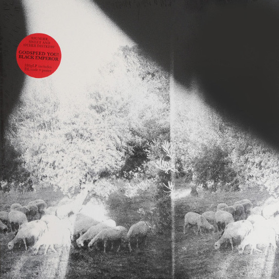 "GODSPEED YOU BLACK EMPEROR! ""Asunder, sweet & other distress"" CD"