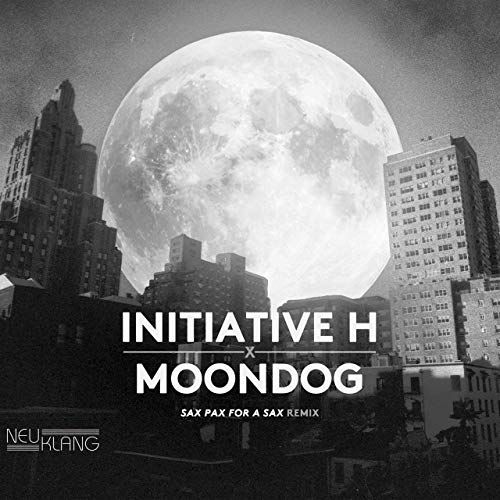 "INITIATIVE H ""MOONDOG : Sax pax for a sax remix"" VINYL"