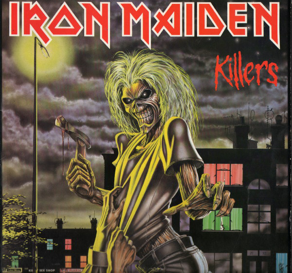 "IRON MAIDEN ""Killers"" VINYL"