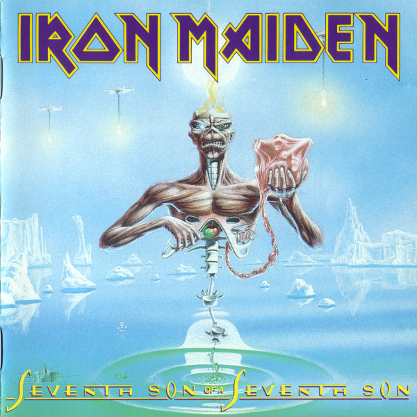 "IRON MAIDEN ""Seventh son of a seventh son"" LP"