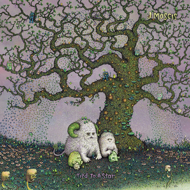 "J. MASCIS ""Tied to a star"" LP"