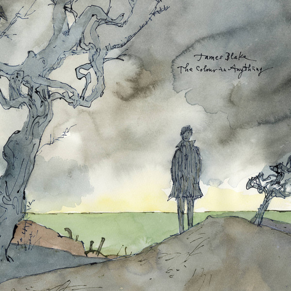"JAMES BLAKE ""The colour of anything"" DOUBLE VINYL"