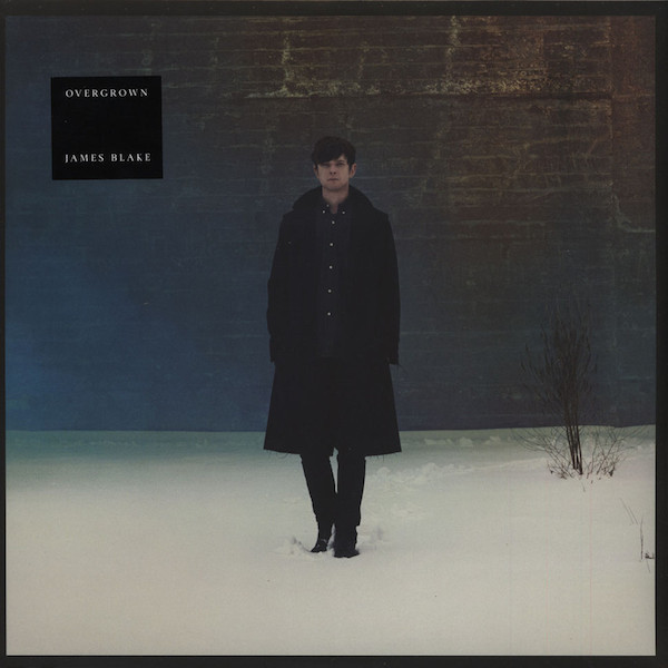 "JAMES BLAKE ""Overgrown"" DOUBLE VINYL"