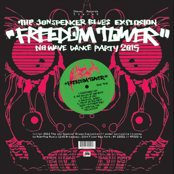 "JON SPENCER BLUES EXPLOSION ""Freedom tower"" CD"