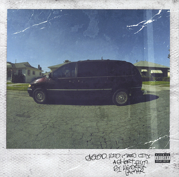 "KENDRICK LAMAR "" Good Kid, m.A.A.d City"" DOUBLE VINYL"