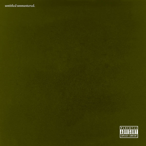 "KENDRICK LAMAR ""Untitled unmastered"" VINYL"