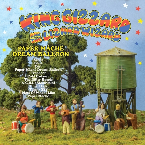 "KING GIZZARD & THE LIZARD WIZARD ""Paper mache dream balloon"" CD"