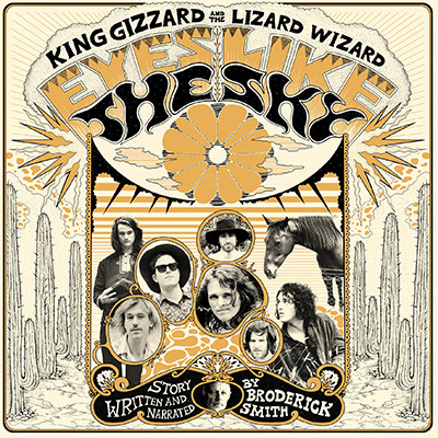"KING GIZZARD & THE LIZARD WIZARD ""Eyes like the sky"" VINYL"