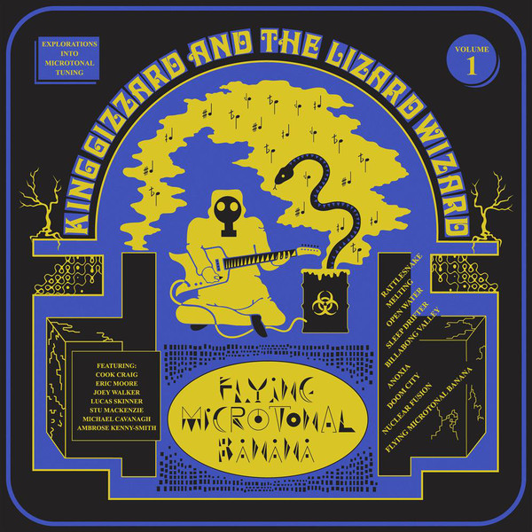 "KING GIZZARD & THE LIZARD WIZARD ""Flying microtonal banana"" VINY"