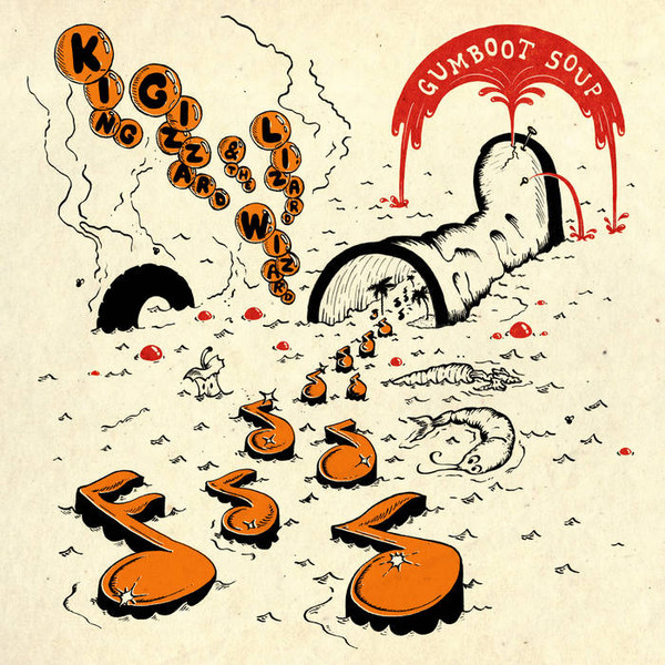 "KING GIZZARD & THE LIZARD WIZARD ""Gumboot soup"" VINYL"