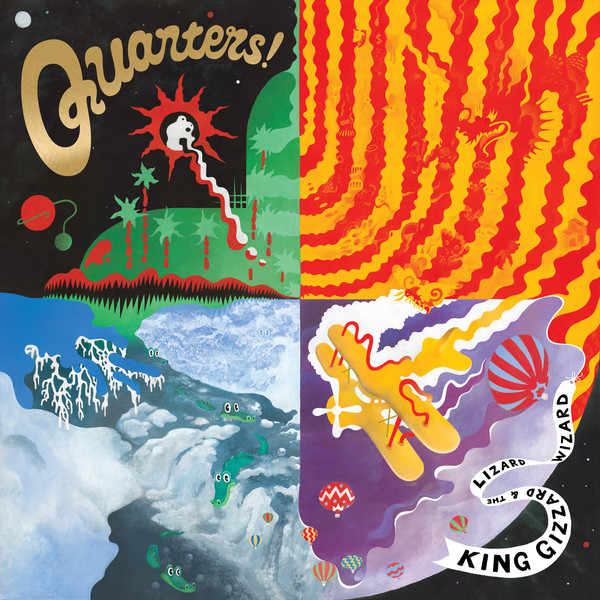 "KING GIZZARD & THE LIZARD WIZARD ""Quarters"" VINYL"