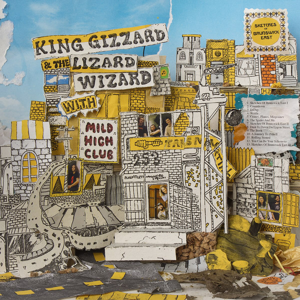 "KING GIZZARD & THE LIZARD WIZARD "" Sketches of Brunswick East"" C"