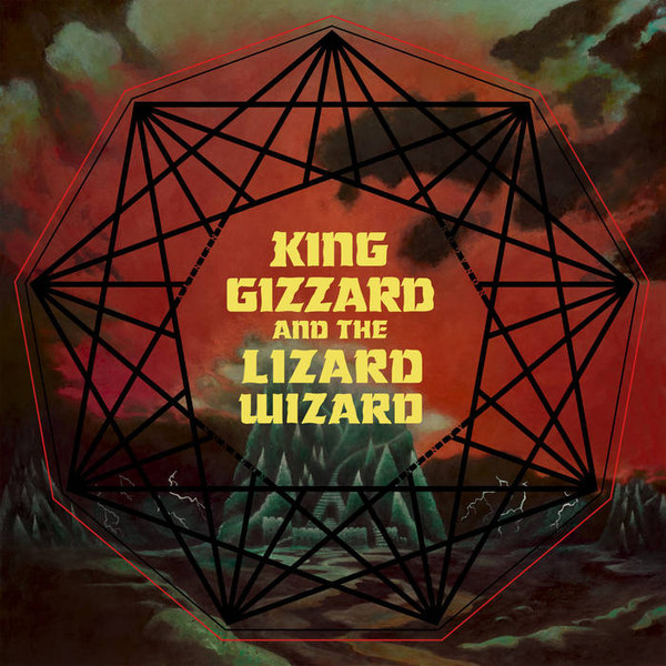 "KING GIZZARD & THE LIZARD WIZARD ""Nonagon infinity"" VINYL"