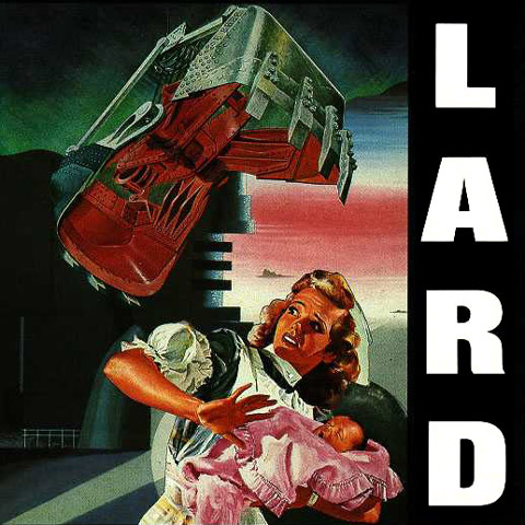 "LARD ""The last temptation of Reid"" vinyl"