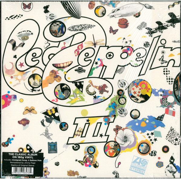 "LED ZEPPELIN ""III"" VINYL"