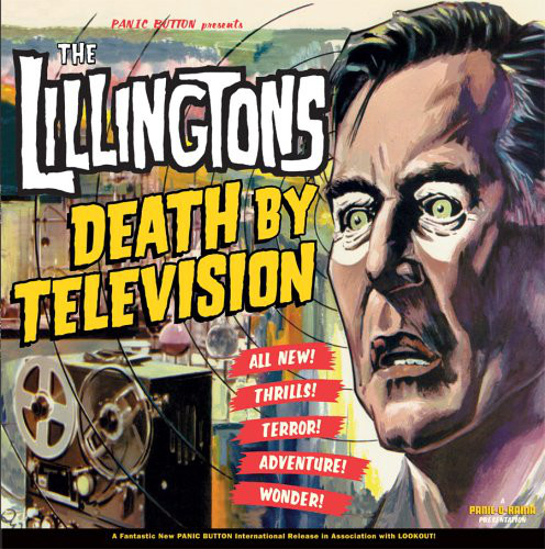 "THE LILLINGTONS ""Death by television"" VINYL"
