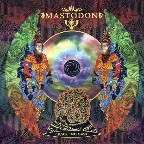 "MASTODON ""Crack the skye"" VINYL"