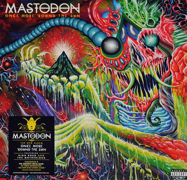 "MASTODON ""Once more round the sun"" DOUBLE VINYL"