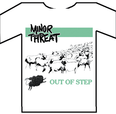 "Minor Threat ""Out Of Steps"" TS"