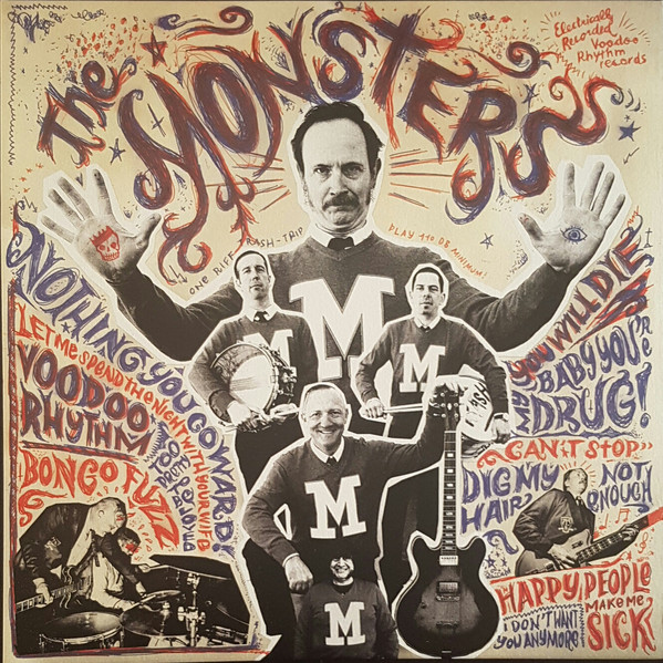 "THE MONSTERS ""M"" VINYL"