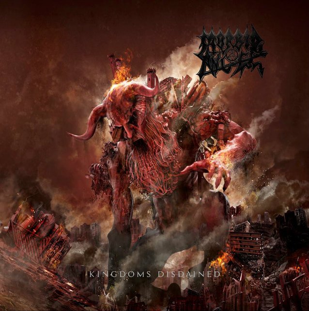 "MORBID ANGEL ""Kingdoms disdained"" CD"