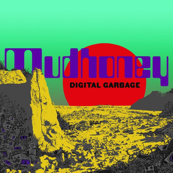 "MUDHONEY ""Digital garbage"" CD"