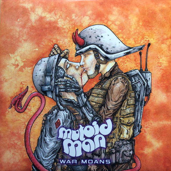 "MUTOID MAN ""War moans"" CD"