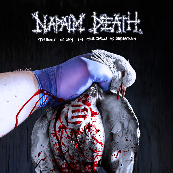 "NAPALM DEATH ""Throes of joy in the jaws of defeatism"" CD"