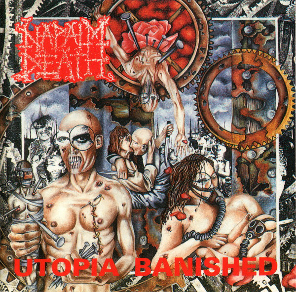 "NAPALM DEATH ""Utopia banished"" VINYL"
