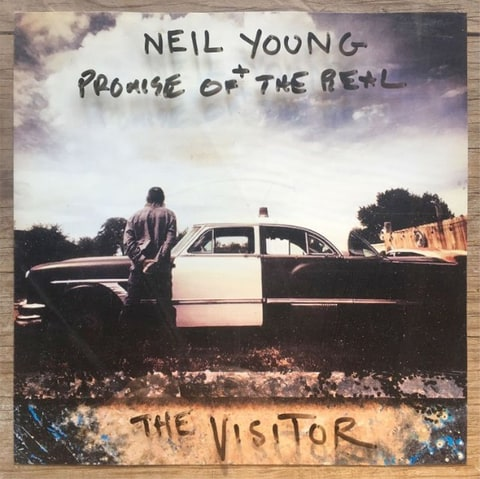 "Neil Young + Promise Of The Real ""The Visitor"" 2LP"