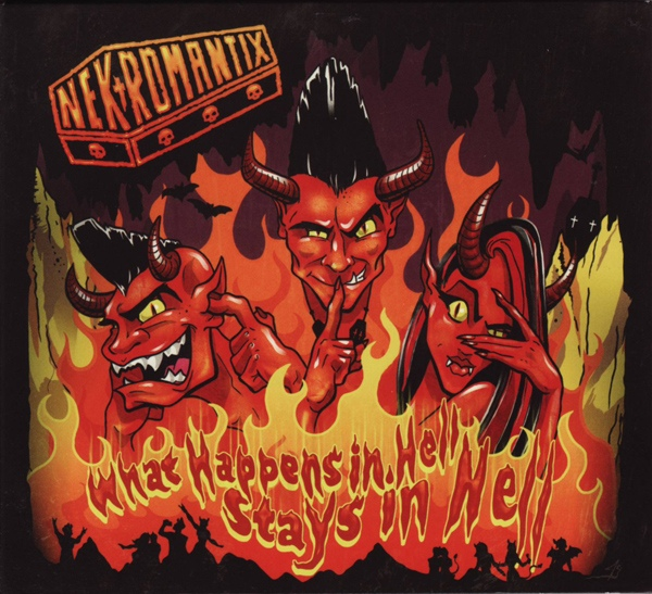 "NEKROMANTIX ""What happens in hell, stays in hell"" LP+CD"