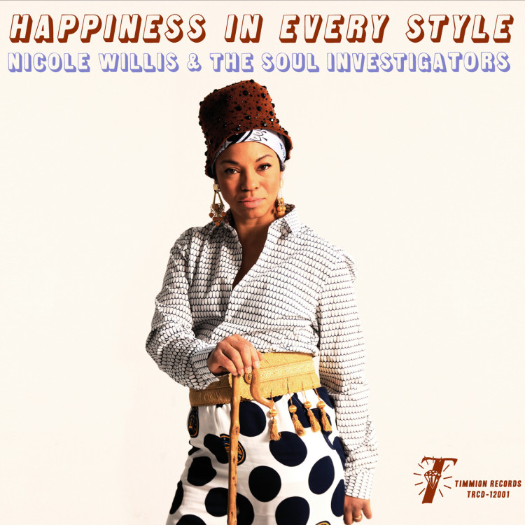"NICOLE WILLIS ""Happiness in every style"" LP"