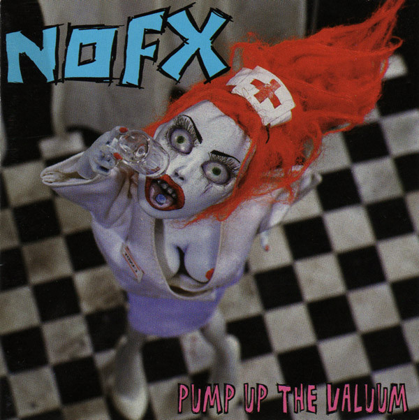 "NOFX ""Pump up the valuum"" CD"