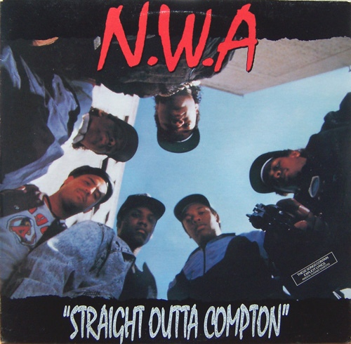"N.W.A ""Straight outta Compton"" CD"