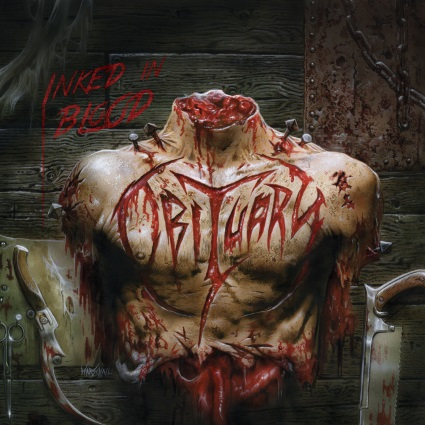 "OBITUARY ""Inked in blood"" CD"
