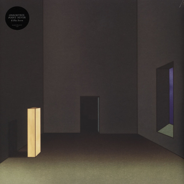 "ONEOHTRIX POINT NEVER ""R plus seven"" DOUBLE VINYL"