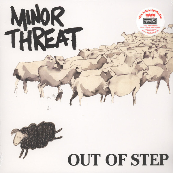 "MINOR THREAT ""Out of step"" VINYL"