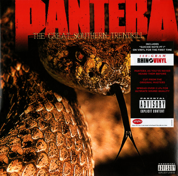 "PANTERA ""The great southern trendkill"" DOUBLE VINYL"