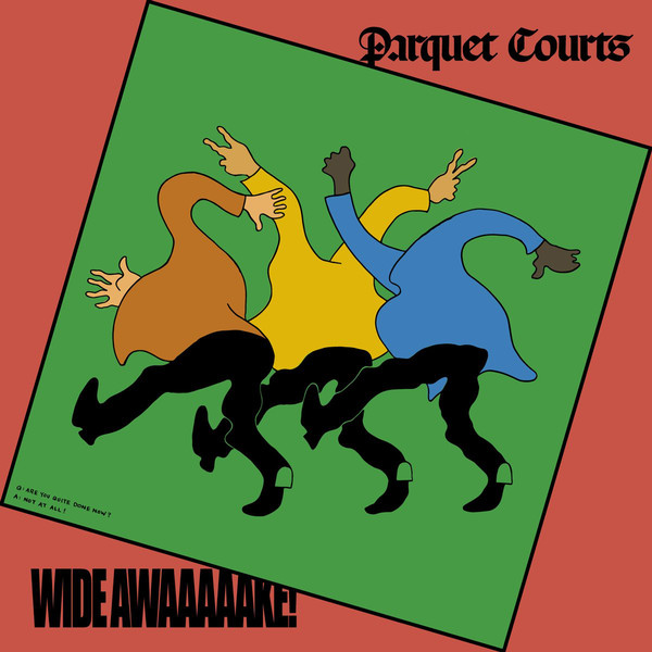 "PARQUET COURTS ""Wide awake!"" CD"