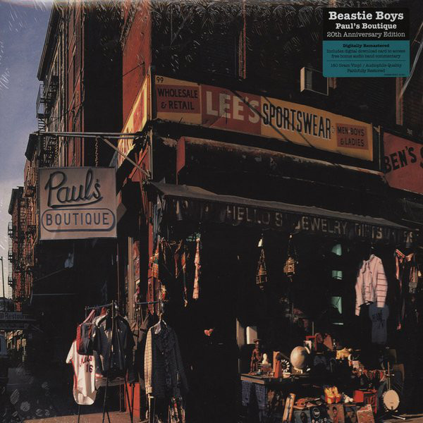 "BEASTIE BOYS ""Paul's boutique"" VINYL"