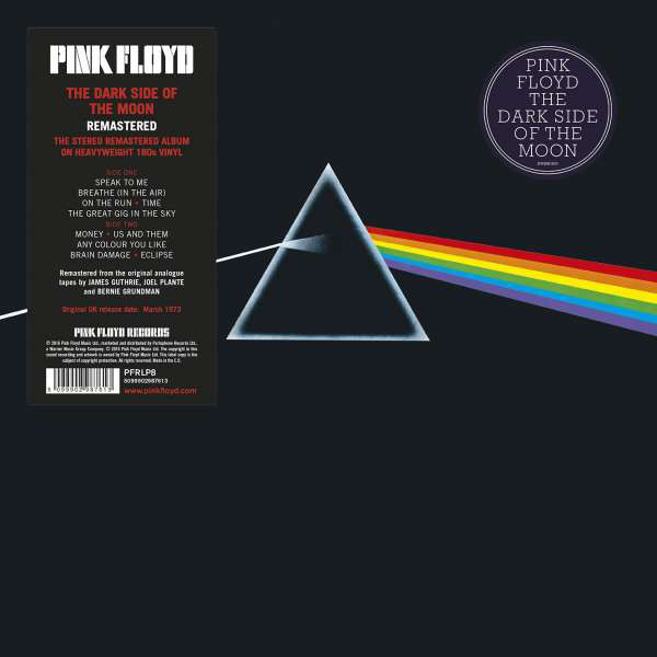 "PINK FLOYD ""The dark side of the moon"" VINYL"