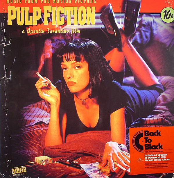 "OST ""Pulp fiction"" VINYL"