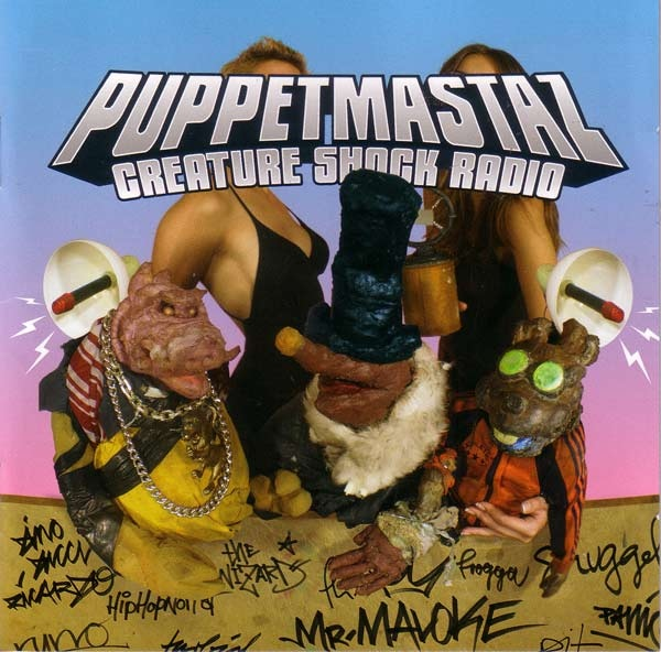 "PUPPETMASTAZ ""Creature Shock Radio"" CD"